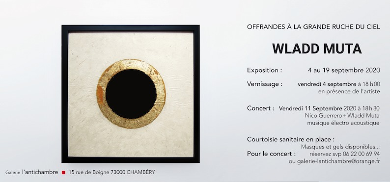 Wladd Muta & Nico Guerrero / Performance @ Galerie L'Antichambre