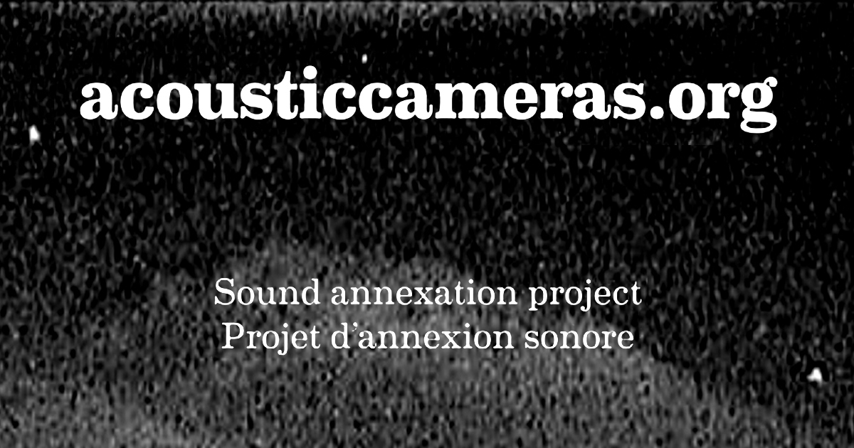 Acoustic Camera invites Nico Guerrero for their Sound Annexation Project