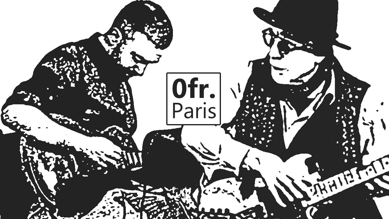 Nico Guerrero + Rhys Chatham – concert video at 0fr. Paris, Nov. 20 2015