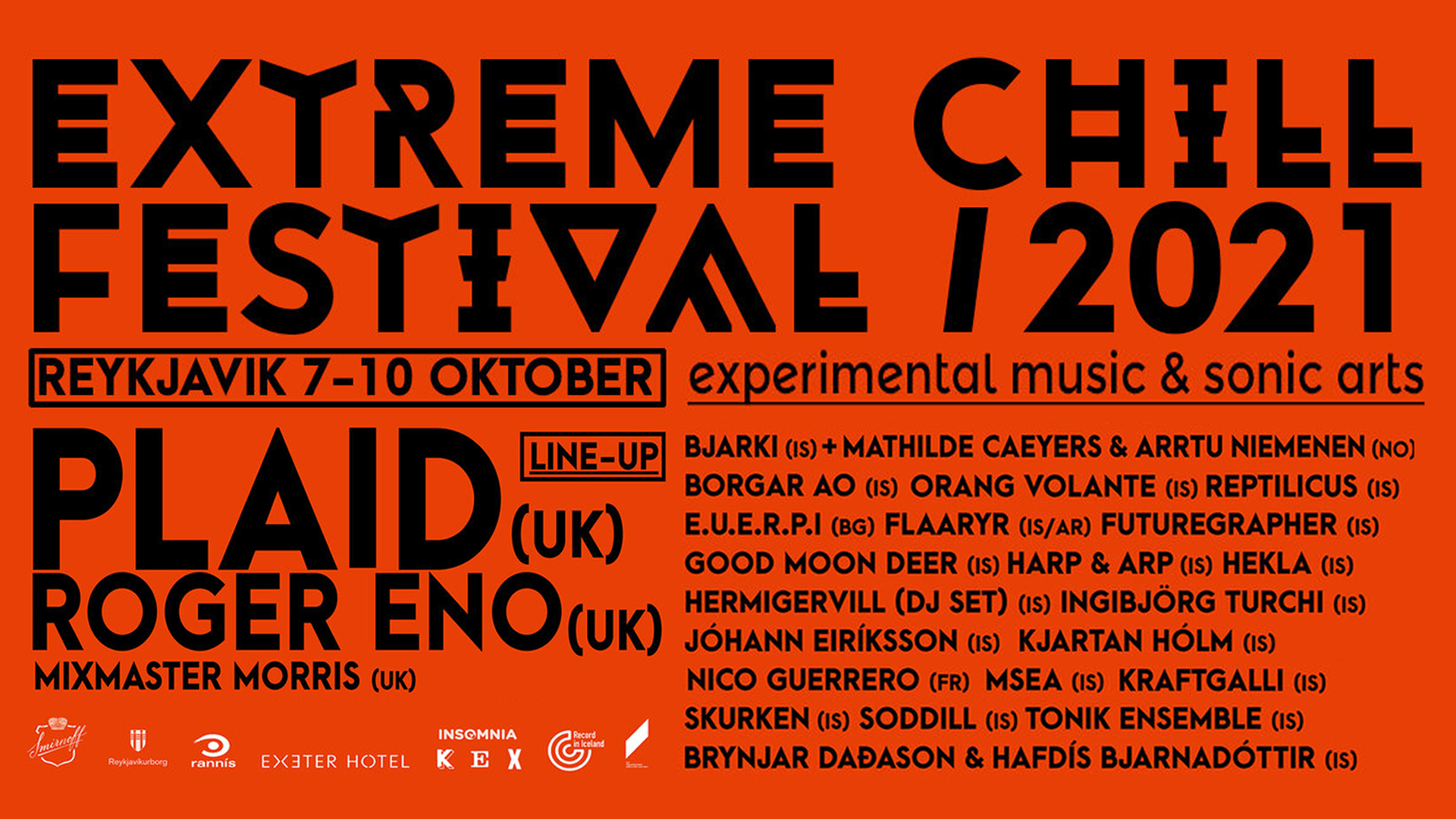 Nico Guerrero concert at Extreme Chill Festival | Reykjavik | Oct. 9 2021